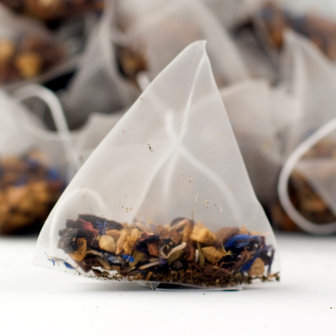 Apple Spiced Fruit Tea Blank Tag Pyramid