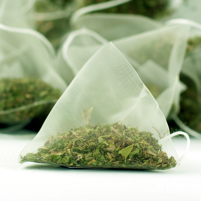 Peppermint Herbal Tea Pyramid Teabags