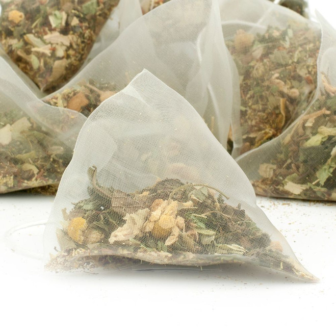 Time Out Herbal Tea Pyramid Teabags
