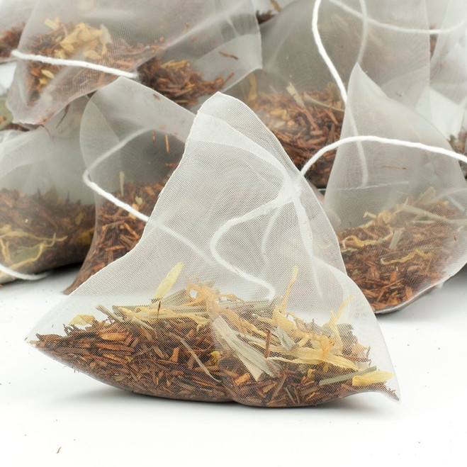 Zesty Lemon Rooibos Tea Pyramid Teabags