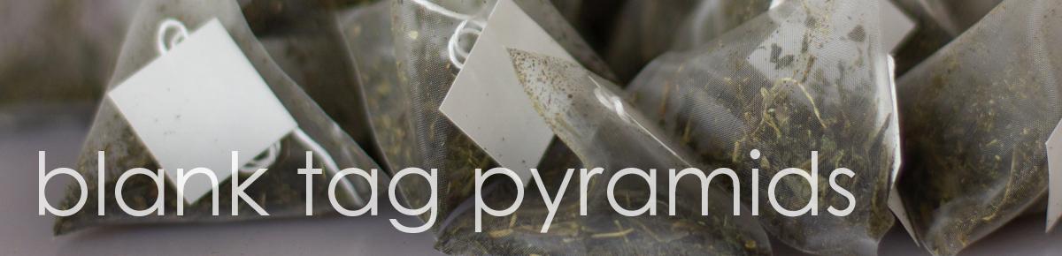 Japan Sencha Blank Tag Pyramid Teabag