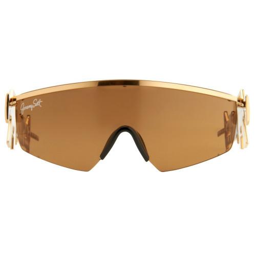 Shiny Gold Shield Lens