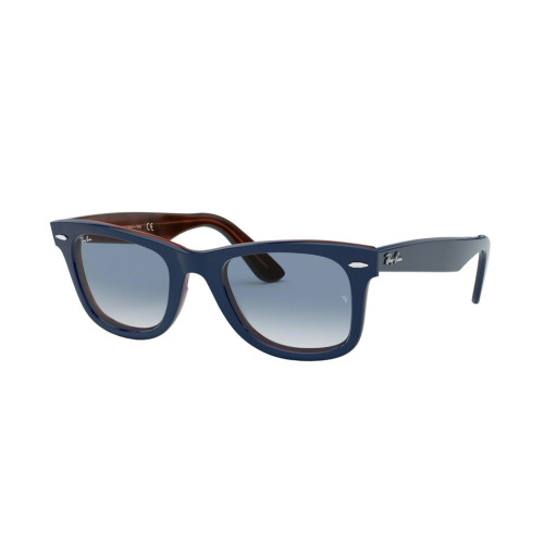 Ray-Ban 0RB2140 TOP BLUE ON RED HAVANA