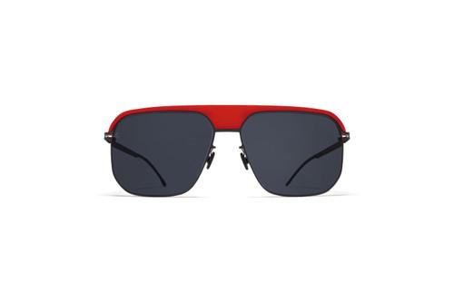 Mykita ML06 MH55 Black Solid Lens / Red/Black Frame