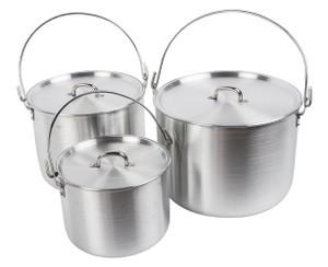 Aluminum Tribal Pot Set