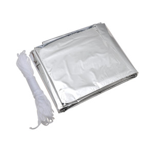Reflective Tube Tent, emergency, survival, mylar
