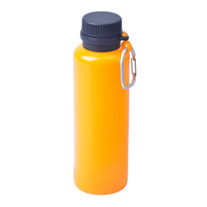 Silicone Bottle, Squeezable, Roll-up, Carabiner