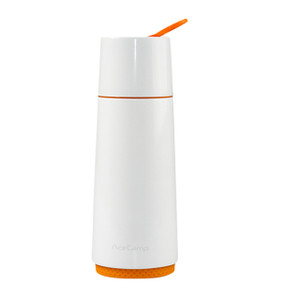 AceCamp Stainless Steel Vacuum Bottle White