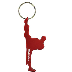 Munkees Athlete Bottle Opener Martial Arts Keychain