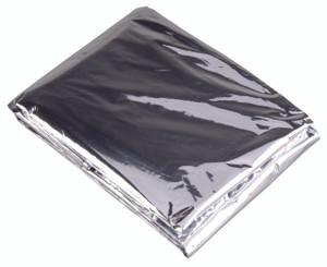 emergency blanket, windproof, waterproof, compact, wilderness survival,