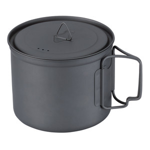 Lightweight titanium pot with lid, Marked down 20%