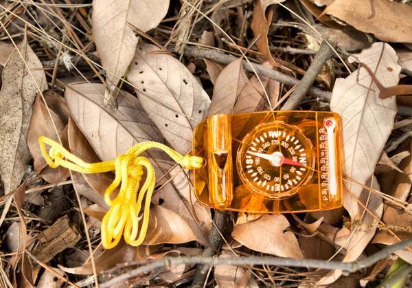 Multi-use compass, Liquid, Lanyard