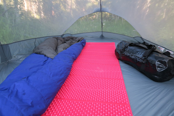 Backpacking, AceCamp Sleeping Pad, Accordion Fold, Compact, Ultralight