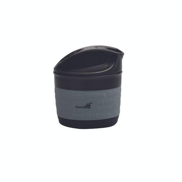 Collapsible, silicone cup