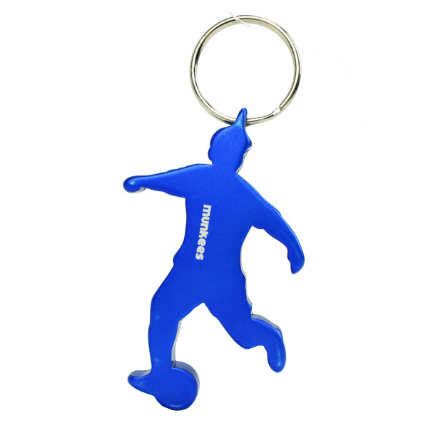 Munkees Athlete Bottle Opener Soccer Keychain