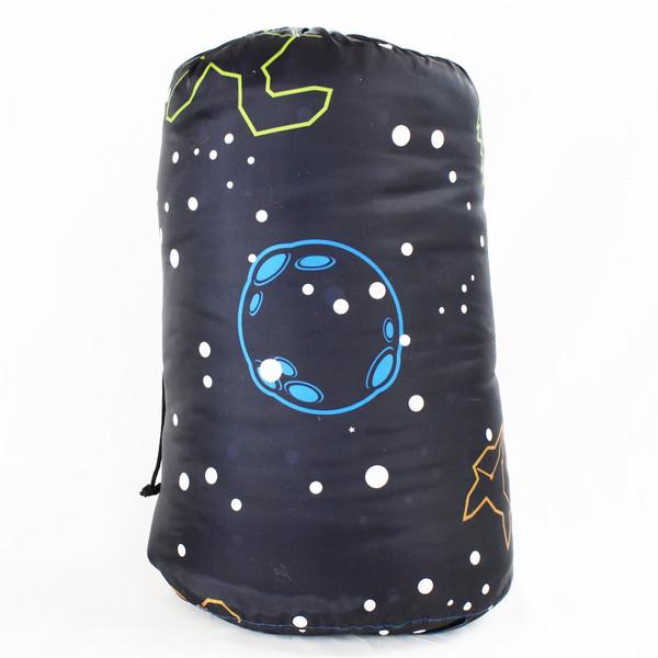 Kids Rectangular Glow Sleeping Bag 30 Degree