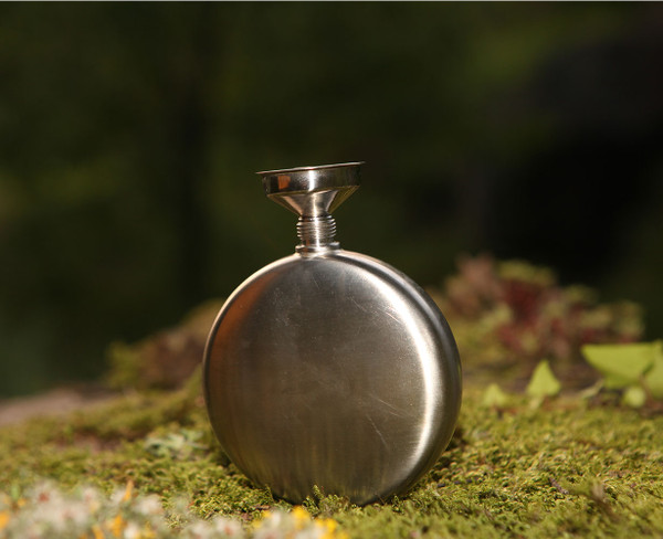 AceCamp hip flask, small, portable