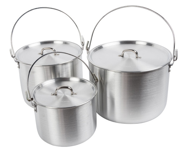 Aluminum Tribal Pot Set