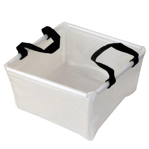 AceCamp Clear Laminated Folding Basin, handles, dish, washing, vinyl