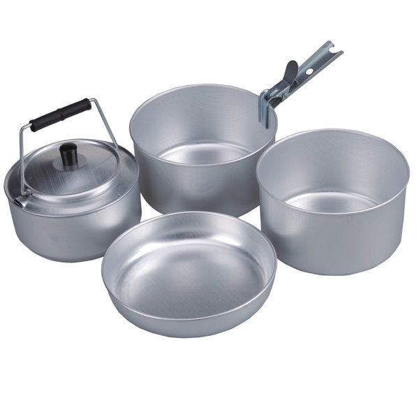 4 person cooking set