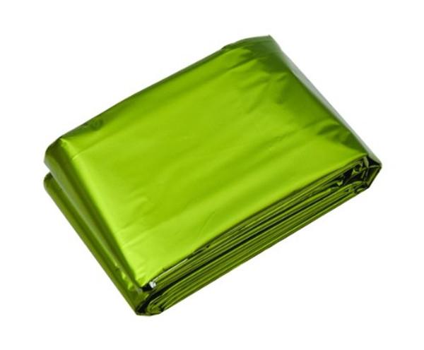 Double Sided Emergency Blanket - Green