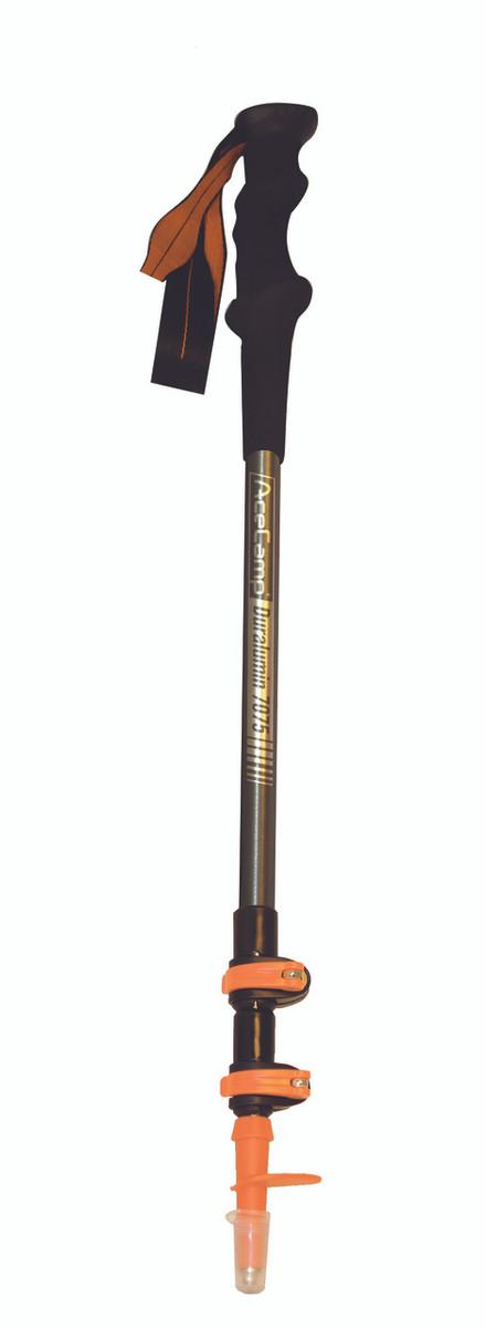 3-Section External Lock Trekking Pole Telescopic Ultralight Hiking Walking Stick