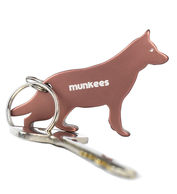 MUNKEES DOG BOTTLE OPENER KEYCHAIN - GERMAN SHEPERD