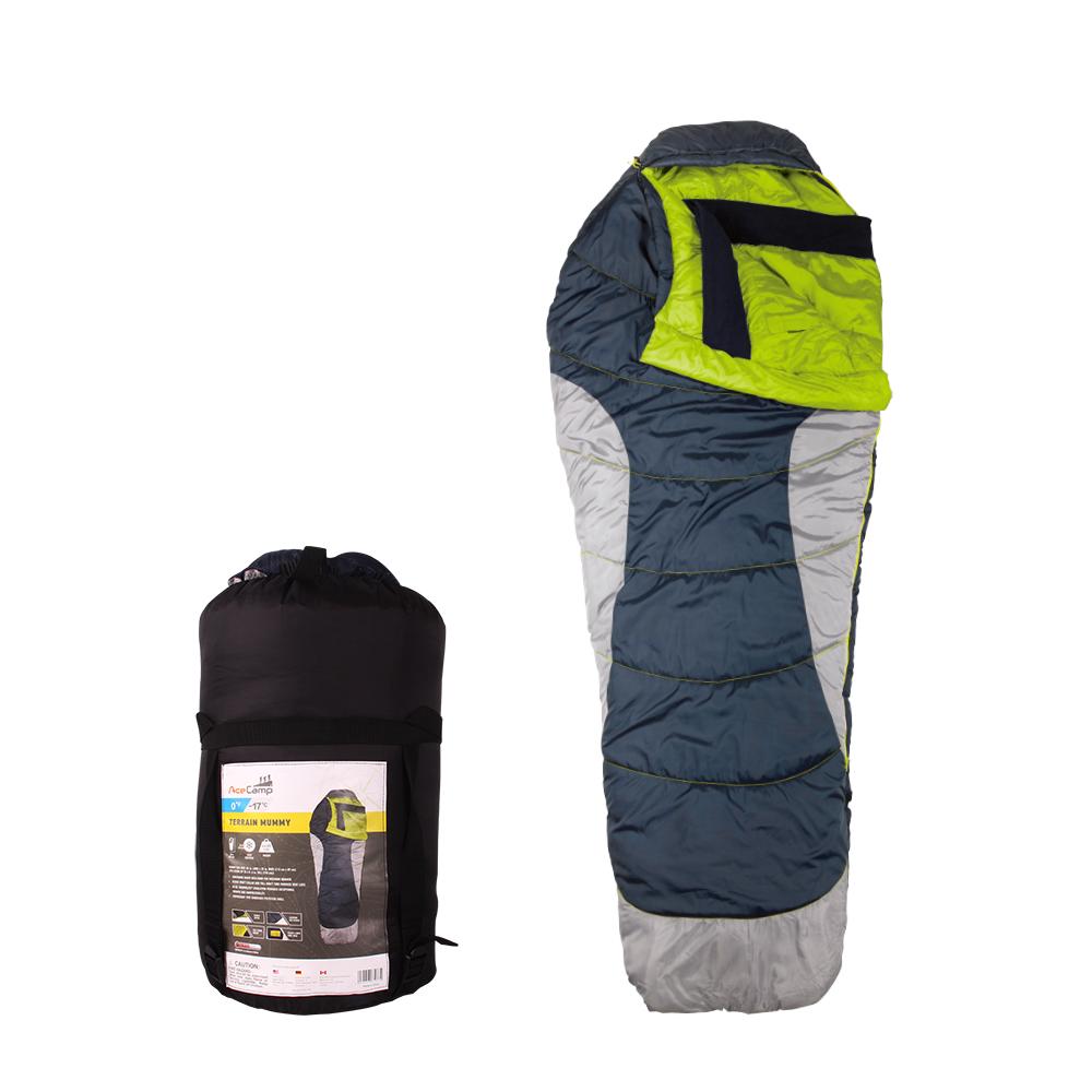 324518cf6f78 AceCamp Terrain Mummy Cold Weather Sleeping Bag