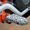 MACHINE FINISH BDCW Platform Footpeg for the Honda CRF 250/450 R/X models. Available in standard or lowered heights, as well as anodized black or orange finishes.