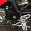 BDCW Platform Footpegs installed on BMW S1000XR