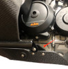 BDCW KTM 790 Skid Plate adapter kit for Touratech Crashbars