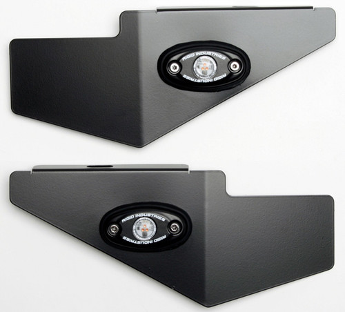 BDCW - Side Panels - Rigid A-Series LED Lights (BMW R1200/1250 GS/GSA-LC - 2013+)