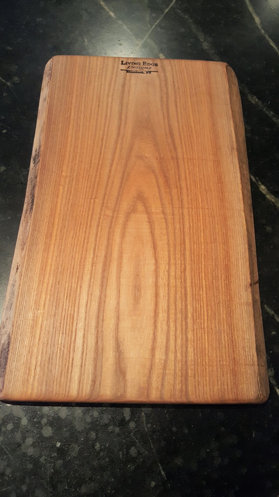 Medium Red Elm Cutting and Serving Board