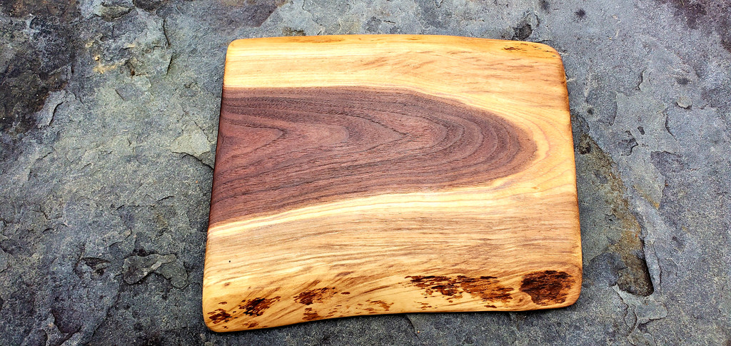 Walnut Cutting and Serving Board-Small
