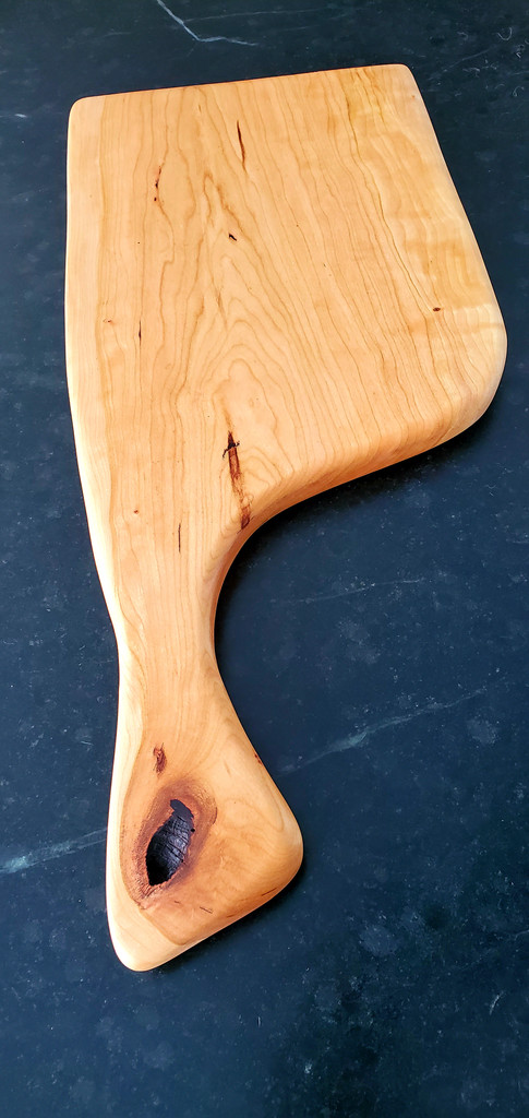 Cherry Paddle With Offset Handle