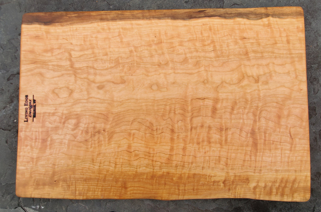 Figured Cherry Carving Board