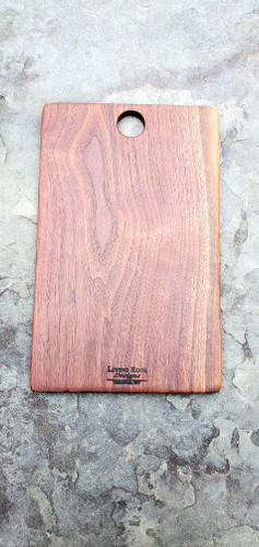 Walnut Cutting and Serving Board with Thumbhole