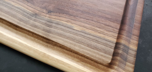 Large Black Walnut Carving Board