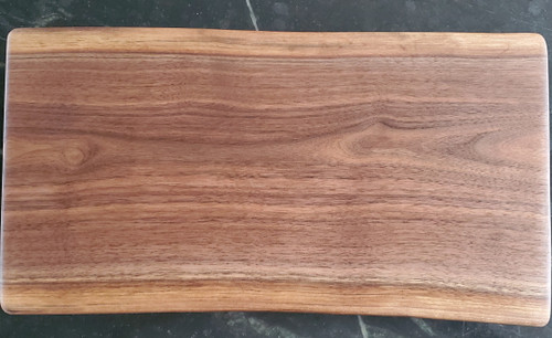 Small/Medium Black Walnut Footed Board