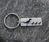 Animal Family Key Chain