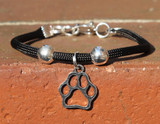 One Strand Bracelet (Choose your color and charm)