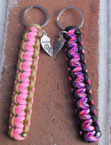 Mother & Daughter Key Chain Set