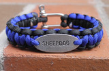 Custom Stamped Bracelet (Choose your colors and personalize)
