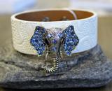 Leather Bracelet - Elephant
