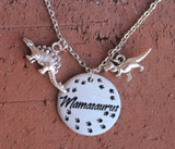"""Mamasaurus"" Dinosaur Necklace"
