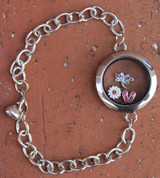 "Ultimate ""Create your own"" Floating Charm Bracelet (864)"