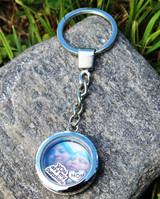 Memorial Floating Charm Key Chain