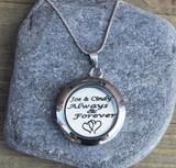 Always & Forever - Engraved Floating Charm Locket
