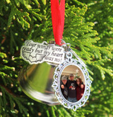 Memorial Photo Ornament (Choose you Charms)