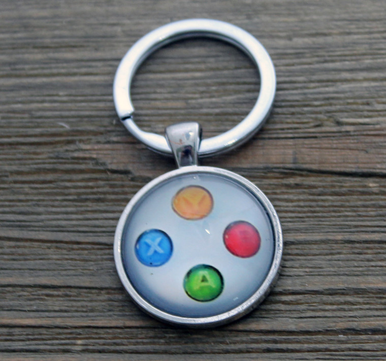 Xbox Controller Buttons Key Chain
